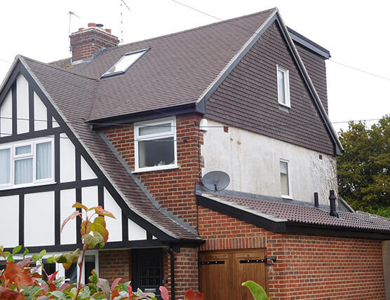 Example of loft conversion